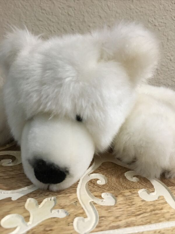 NATIONAL GEOGRAPHIC COLLECTIBLE PLUSHY SPECIAL MEMBERS EDITION WHITE POLAR BEAR