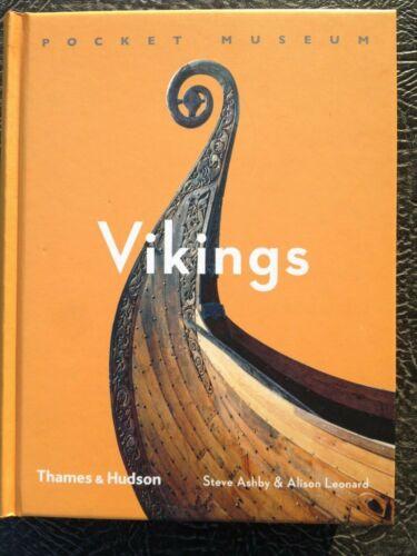 """Book """"VIKINGS""""  Pocket Museum   Steve Ashby& Alison Leonard"""