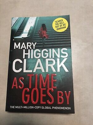 As Time Goes By By Mary Higgins Clark Paperback Like New