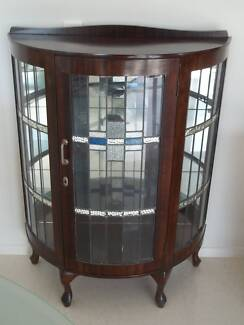 Antique Display Cabinet Kangaroo Point Brisbane South East Preview