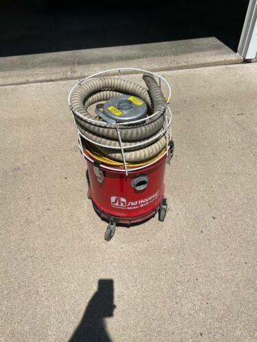 Sid Harvey S14 5 Gallon Industrial Canister Soot Vac Vacuum Cleaner