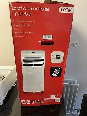 Logik Local Air Conditioner Portable - Cooling Capacity 5000BTU/1.4KW New-other