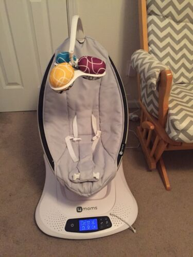 4Moms Mamaroo 4 Infant Reclining Seat Rocker Bouncer Swing 2