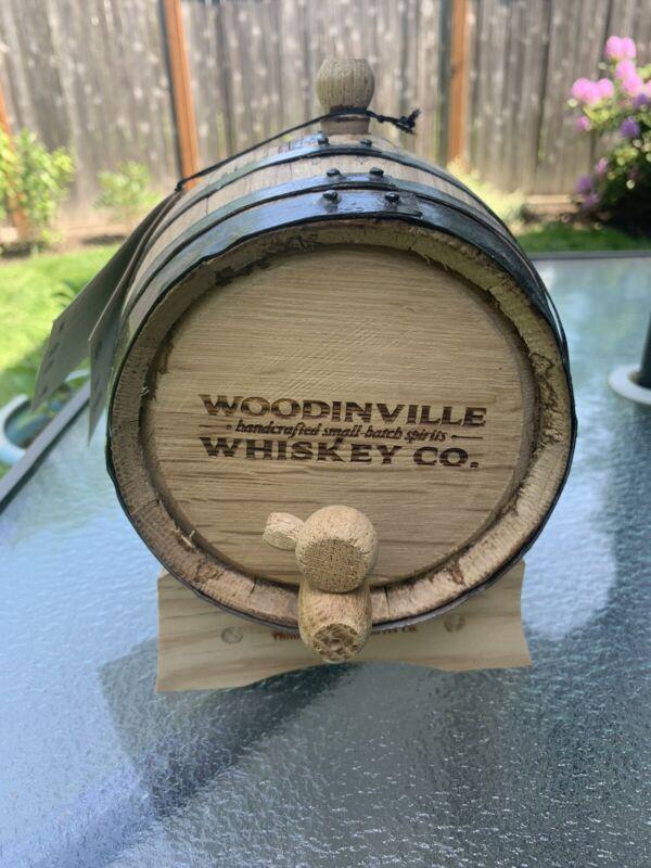 Woodinville Whiskey Mini Oak Barrel