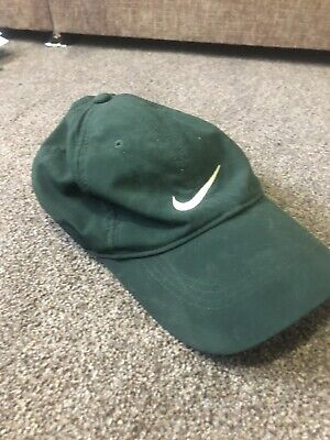 Nike Golf Green Cap With White Tick