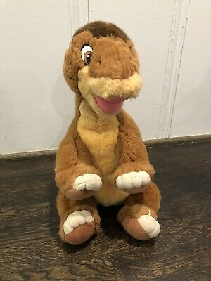 VTG 80s - Land Before Time - Littlefoot Stuffed Animal - Gund - Big - Little Foot Stuffed Animal