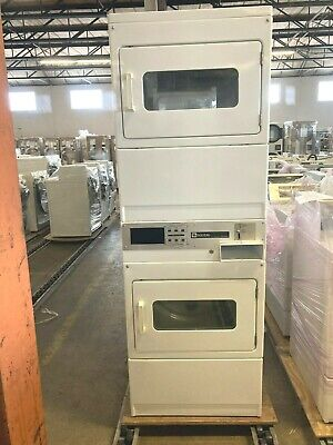 Mlg24pd Maytag Coin Operated Single Load Stack Dryer Machine Used