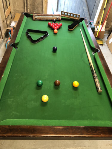 Snooker Pool table Slate Bed, 6ft X 3ft