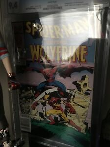 Spider-Man vs wolverine cgc