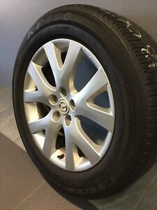"MAZDA CX7 18"" GENUINE ALLOY WHEELS AND TYRES Carramar Fairfield Area Preview"
