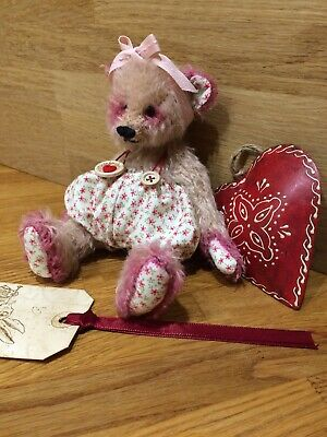 Hand Made Mohair Bear Made In England