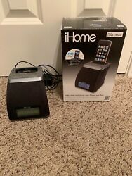 iHome (iP21) iPod / iPhone Alarm Clock Speaker Dock System w/Power Supply & Box
