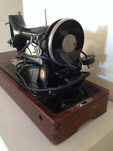 Antique Singer Sewing Machine & Case |  Model 99K Strathfield Strathfield Area Preview
