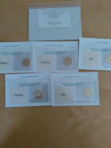 2007 24kt Gold State Quarter Set, 5 Coins - $5.50