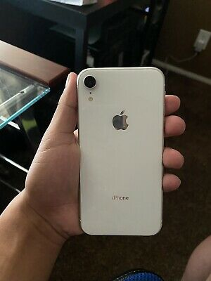 Apple iPhone XR - White 64gb A1984 (Unlocked),