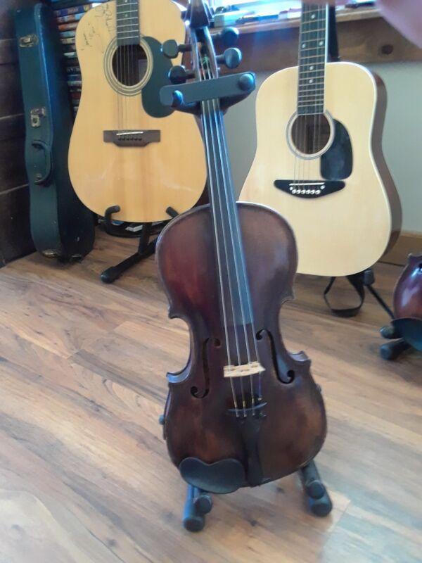 1866 Jean Baptiste Vuillaume a Paris Violin-excellent flames,bright strong voice