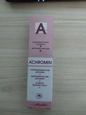 ACHROMIN HAUT AUFHELLUNG GESICHTSCREME ANTI DUNKLE FLECKEN ALTERSFLECKEN 45ml
