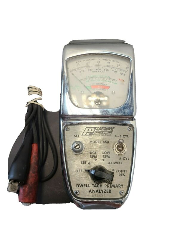 Peerless Instrument Co. Dwell Tach Primary Analyzer Model 450