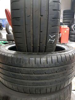 225 40 18 Goodyear tyres run flat
