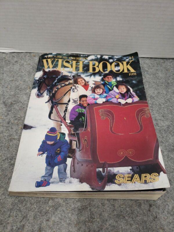 1991 Sears Wish Book Christmas Catalog Nintendo Sega Barbie TMNT Turtles
