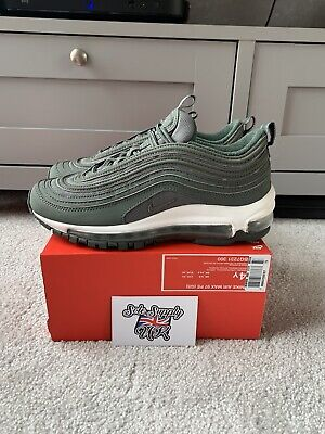 Nike Air Max 97 Green White Size UK 3.5 *IN HAND READY TO SHIP*