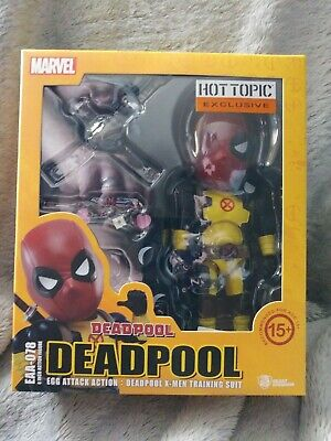 Beast Kingdom Egg Attack : Marvel Deadpool X-men Training Suit. 6 Inch Action...