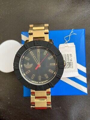 Adidas Gold colour Bracelet Watch , Black Dial
