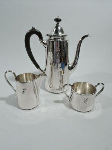 Kalo Coffee Set - 13 - Arts & Crafts Craftsman - American Sterling Silver