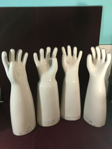 VINTAGE Industrial CERAMIC GLOVE MOLD