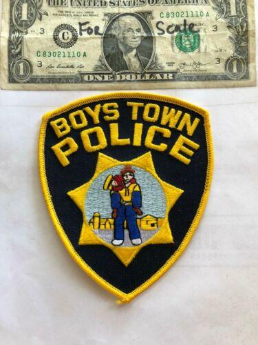 Boys Town Nebraska Police Patch Un-sewn in great shape