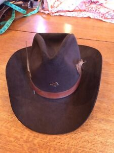 Halloween Cowboy Costume Hat Brown 6 7/8