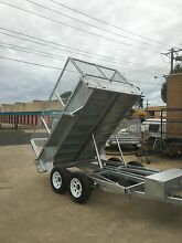 8×5 9x5 10x5 10x6 Tandem Tipper Trailer Galvanised  3200kg ATM Seaford Frankston Area Preview