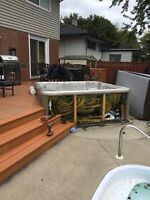 Hot tub Removal By LoadPro