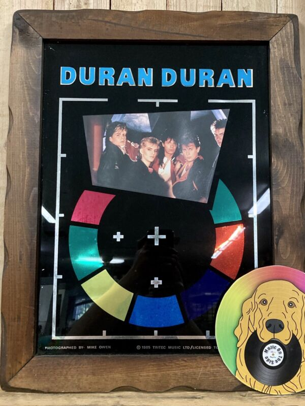 Duran Duran Wooden Framed Poster Arena Album 1985 Tritec Music Graphi Creations