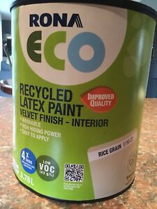 Rona Eco Recycled Latex Paint - Velvet Finish