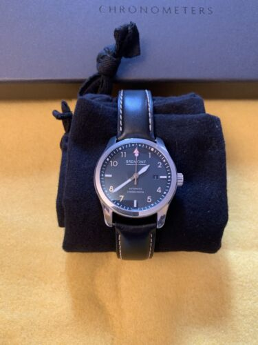 Bremont Solo mens watch Chronometer 43mm Polished Steel RRP £3095.00 - watch picture 1