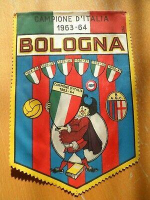 Fanion Football - FC BOLOGNA - 1970 - VINTAGE - (24 cm x 16 cm)