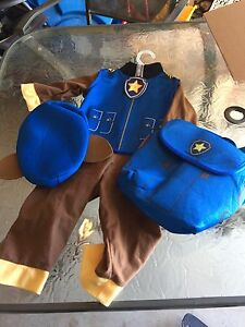 Paw patrol costume and size 18-24 months clothes