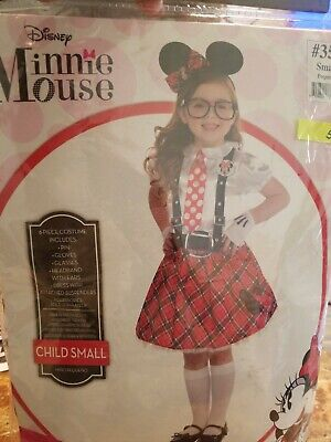 Minnie Mouse Nerd Costume for Girls, Includes a Dress and More Child Small #51](Nerd Costumes For Girls)