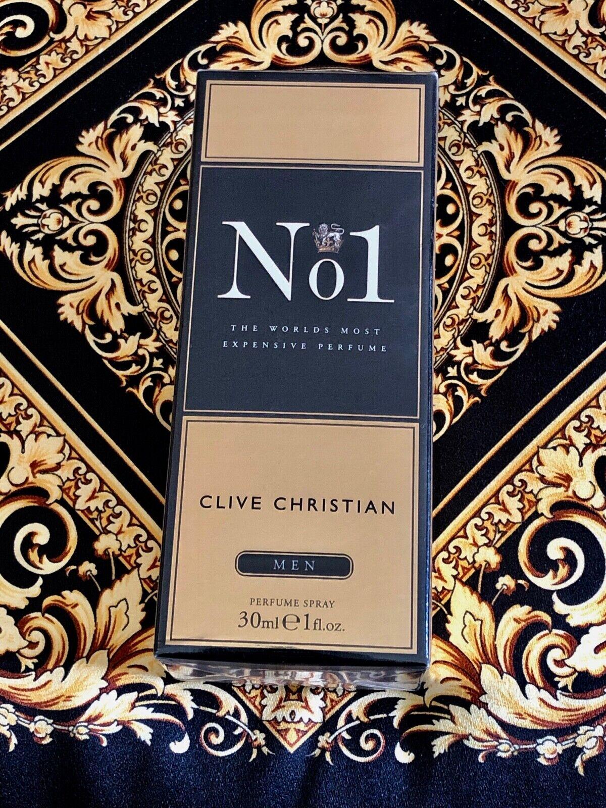 Genuine Clive Christian No. 1 Perfume for men 1 oz 30ml Bran