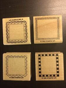 Stampin' up items