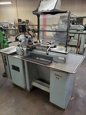 Hardinge Dsm-59 Second Op Tool Room Turret Lathe