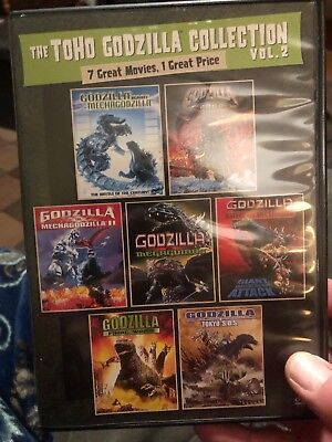 The Toho Godzilla Collection: Volume 2 3 Dvds Of 4 From Boxed Set Dolby