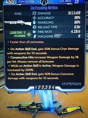 Borderlands 3 MAYHEM 10 BEST MODDED Reflux Shotgun x56 1% 200% Level 10- 57 (10 Best Xbox Games)