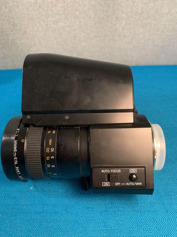 Auto Focus TV Zoom Lens w Macro 10.5 ~ 84mm 1:14 Manual serial number brandless