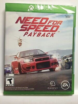 Need for Speed Payback (Microsoft Xbox One) Brand New Factory Sealed! USA!