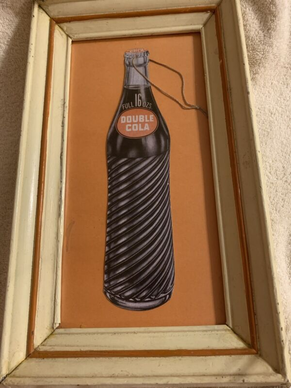 Double Cola Fan Pull Advertising Sign
