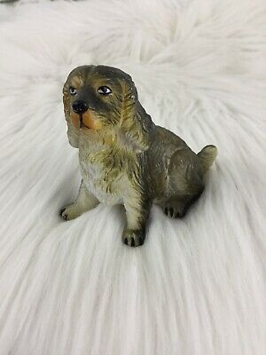 Vintage NEW-RAY Rubber Plastic Dog Toy Realistic English Cocker Spaniel #7 (English Toy Cocker Spaniel)