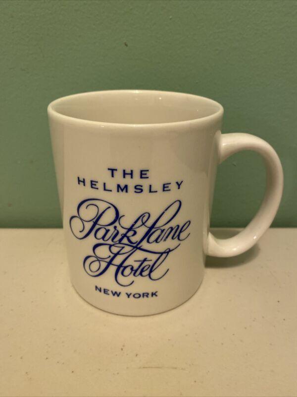 The Helmsley Park Lane Hotel New York Mug NYC Restaurant Ware 10 Oz  RARE