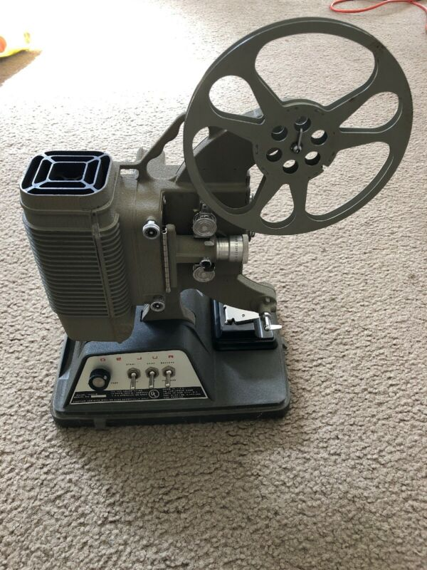 VINTAGE WORKING DEJUA CUSTOM 1000 B PROJECTOR WITH CASE